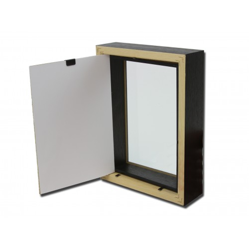White Wooden Box picture photo frame