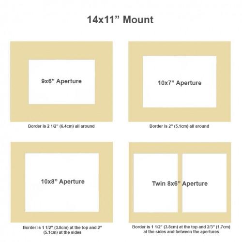 14x11 inch Wooden Certificate Frame Cubed Black Blue Green Navy Blue ...